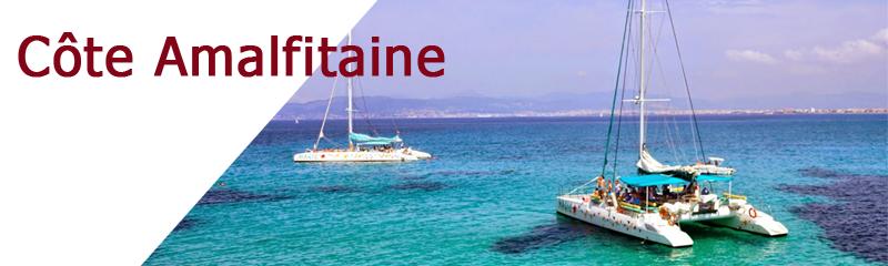 Location de bateaux sur la Côte Amalfitaine
