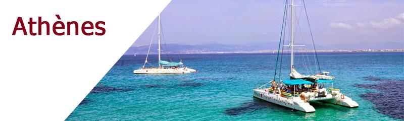 Location de bateaux au départ d'Athènes