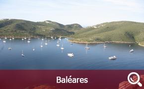 Itinéraire de croisière aux Baléares