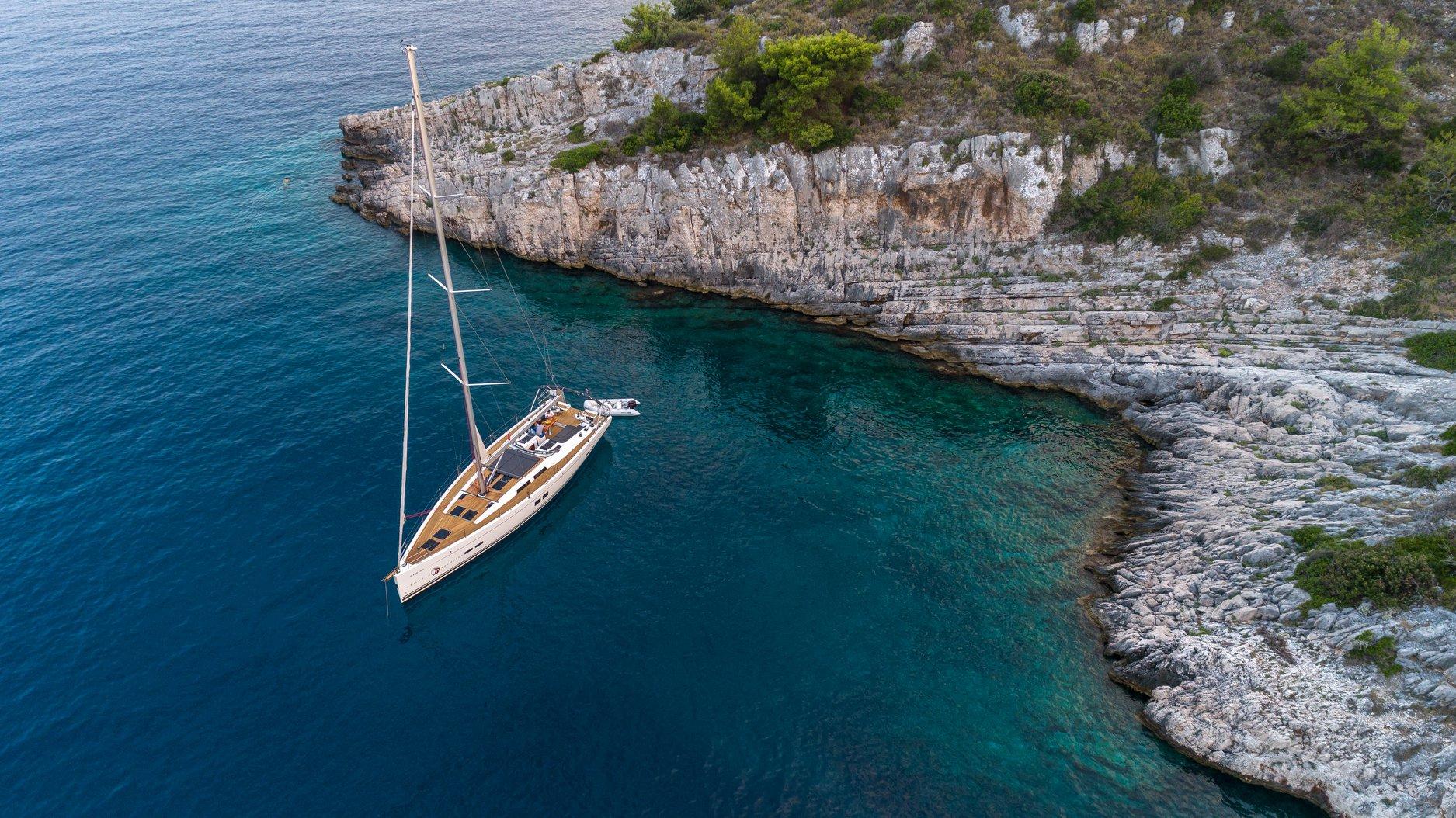 Naviguer dans le sud de la Croatie