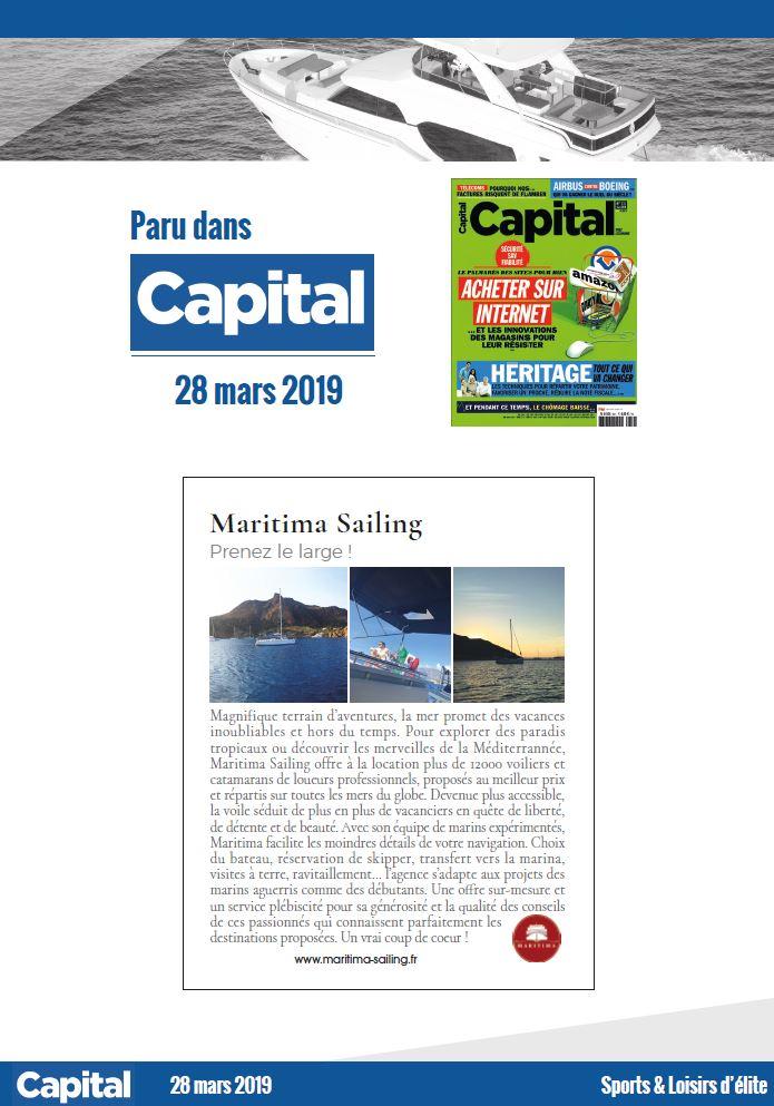 Article de Capital du 28/03/2019