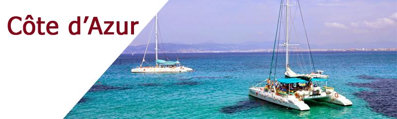 Tous les bateaux à la location sur la Côte d'Azur