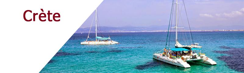 Location de bateaux en Crète