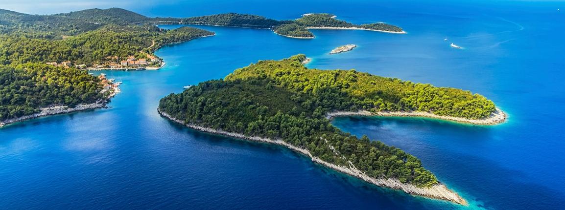 Naviguer vers le nord de la Croatie