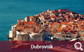 Itinéraire de croisière au départ de Dubrovnik