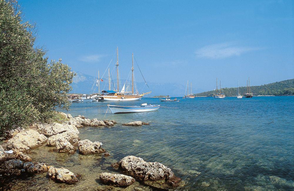 Croisière en Turquie en catamaran ou en voilier