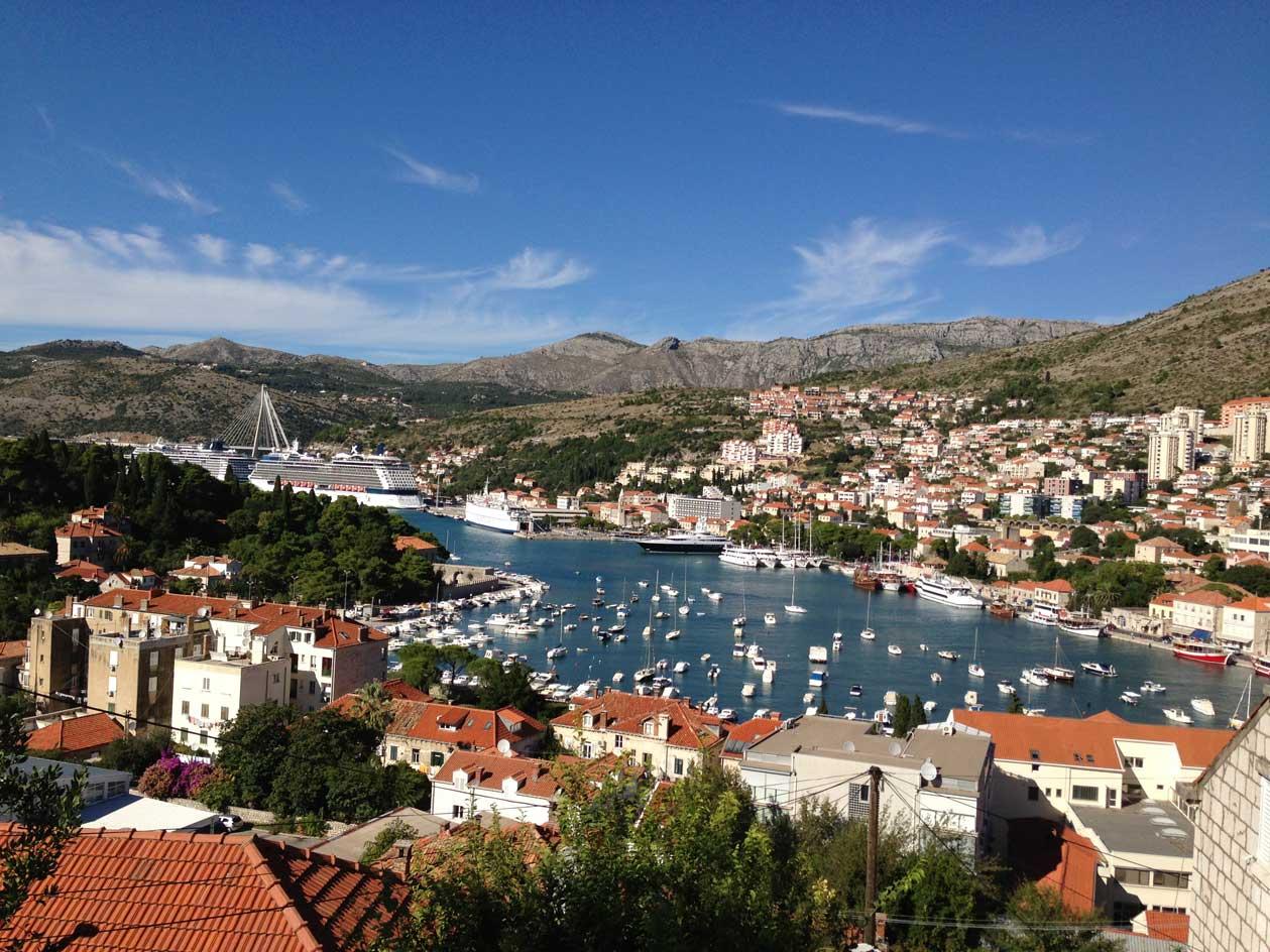 Dubrovnik - Gruz port