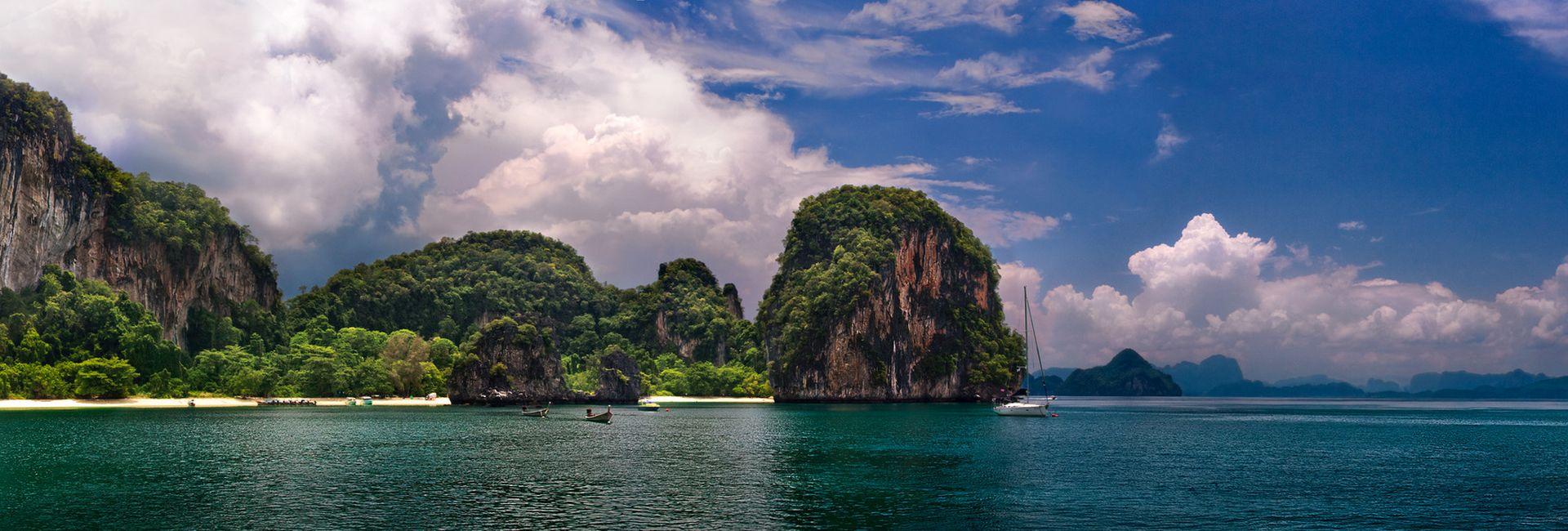 Croisières en Goélettes et Jonques en Thaïlande