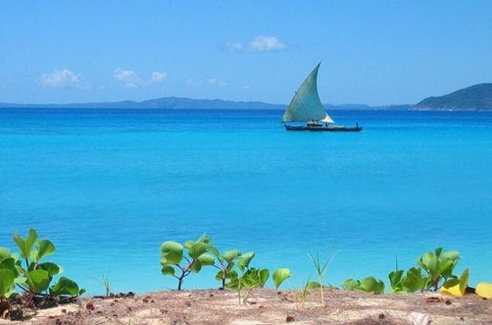 Madagascar en louant un bateau