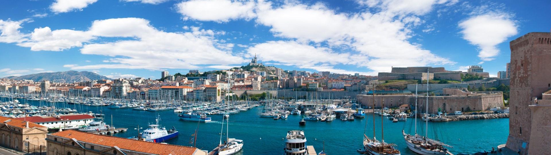 La Marseille par le bateau