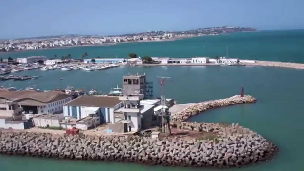 Découvrez le port de La Goulette à Tunis en Tunisie