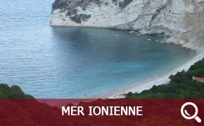 Itinéraire de croisière en Mer Ionienne