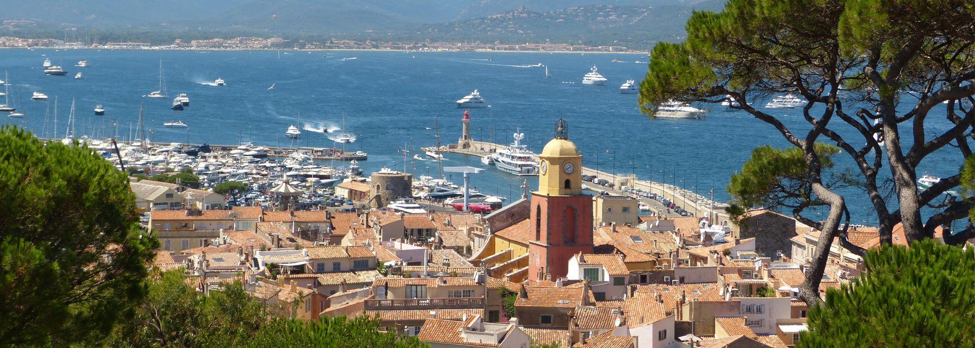 Saint-Tropez est toujours aussi belle…hors saison !