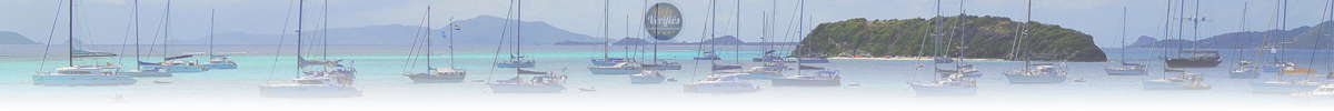 Sailboats and Catamarans in the West Indies