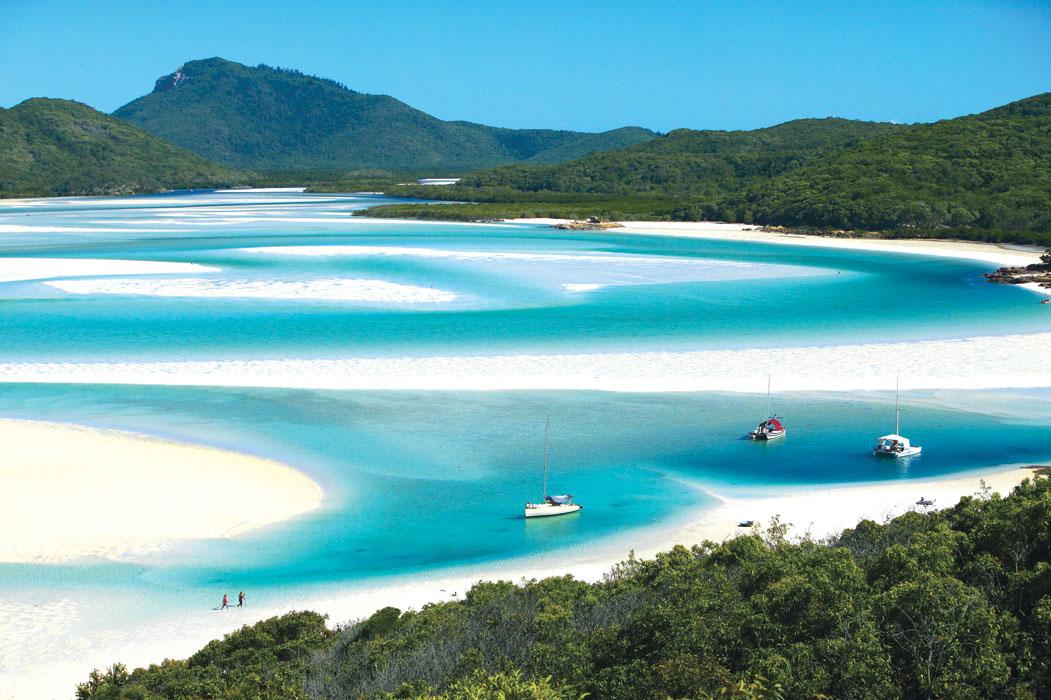 Partir en croisière dans les îles idylliques Whitsundays